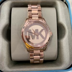 Michael Kors Accessories - Rose gold watch
